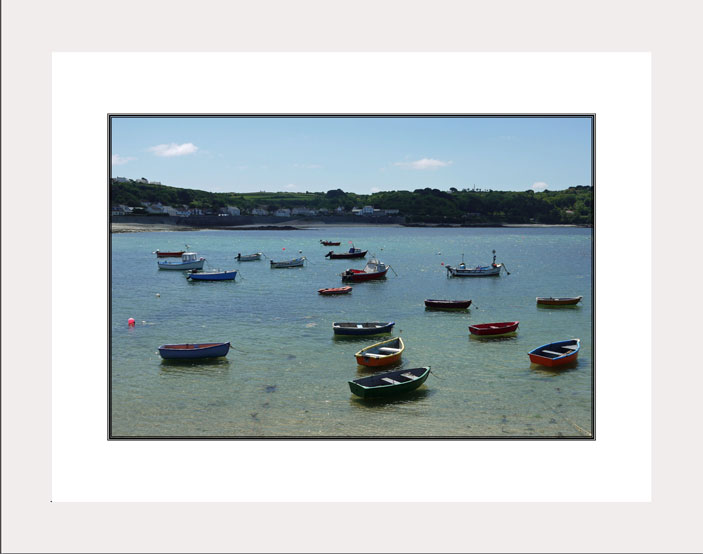 Guernsey Boats white frame