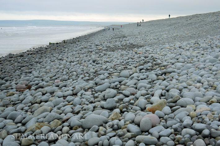 Photo of pebble beach, Westward Ho!