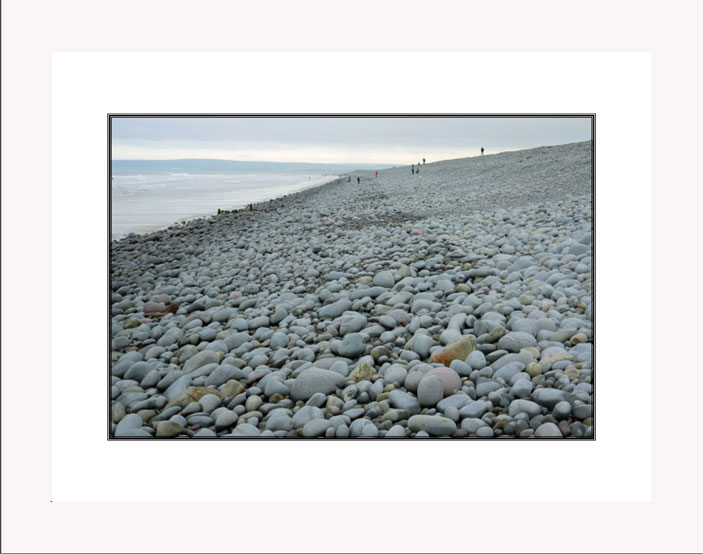 Pebble Beach white frame