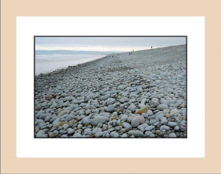 Pebble Beach wood frame