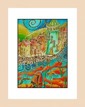 Plenty More Fish in the Sea - Pictures and Paintings, Townscapes and Fantasy