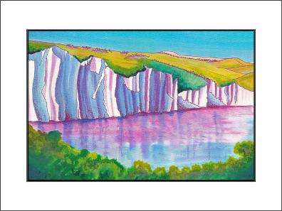 The Seven Sisters - mounted print