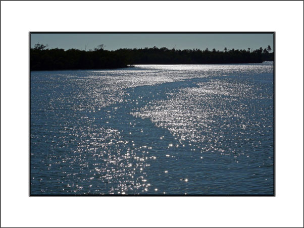 Sparkling Waters unframed