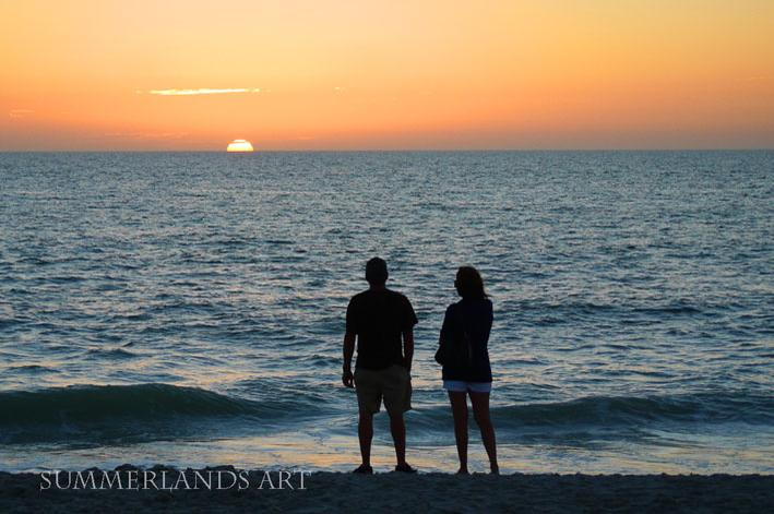 Photo of sunset in Naples, Florida
